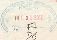 F-1 Stamp